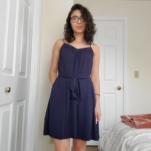 Banana Republic Navy Dress